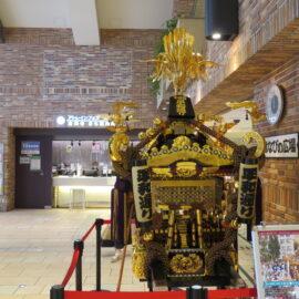 吉祥寺秋まつり中止と神輿の展示