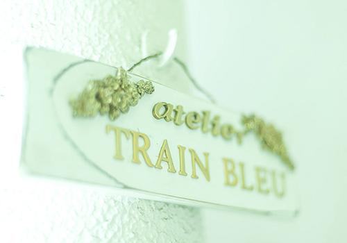 atelier TRAIN BLEU